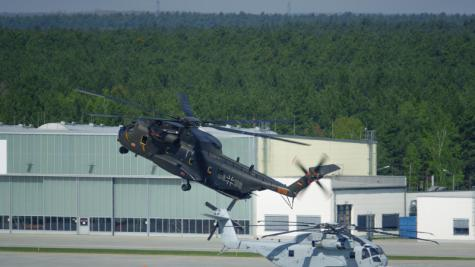 CH-53G Transport Helicopter