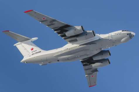 Derived from the Il-76MD-90A transport aircraft, the new tankers will be powered by four new generation PS-90A-76 engines, and will feature new flight and navigation systems including a glass cockpit. (UAC photo)