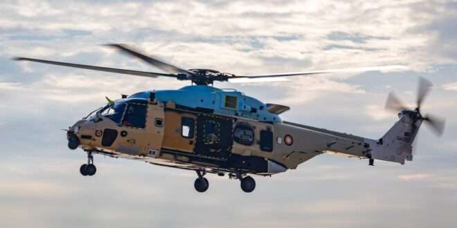 Qatar's NH90 helicopter
