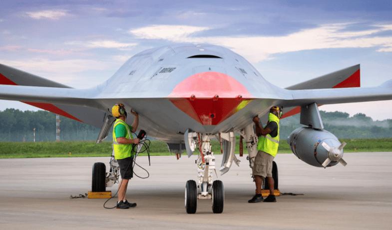 MQ-25 tanker drone
