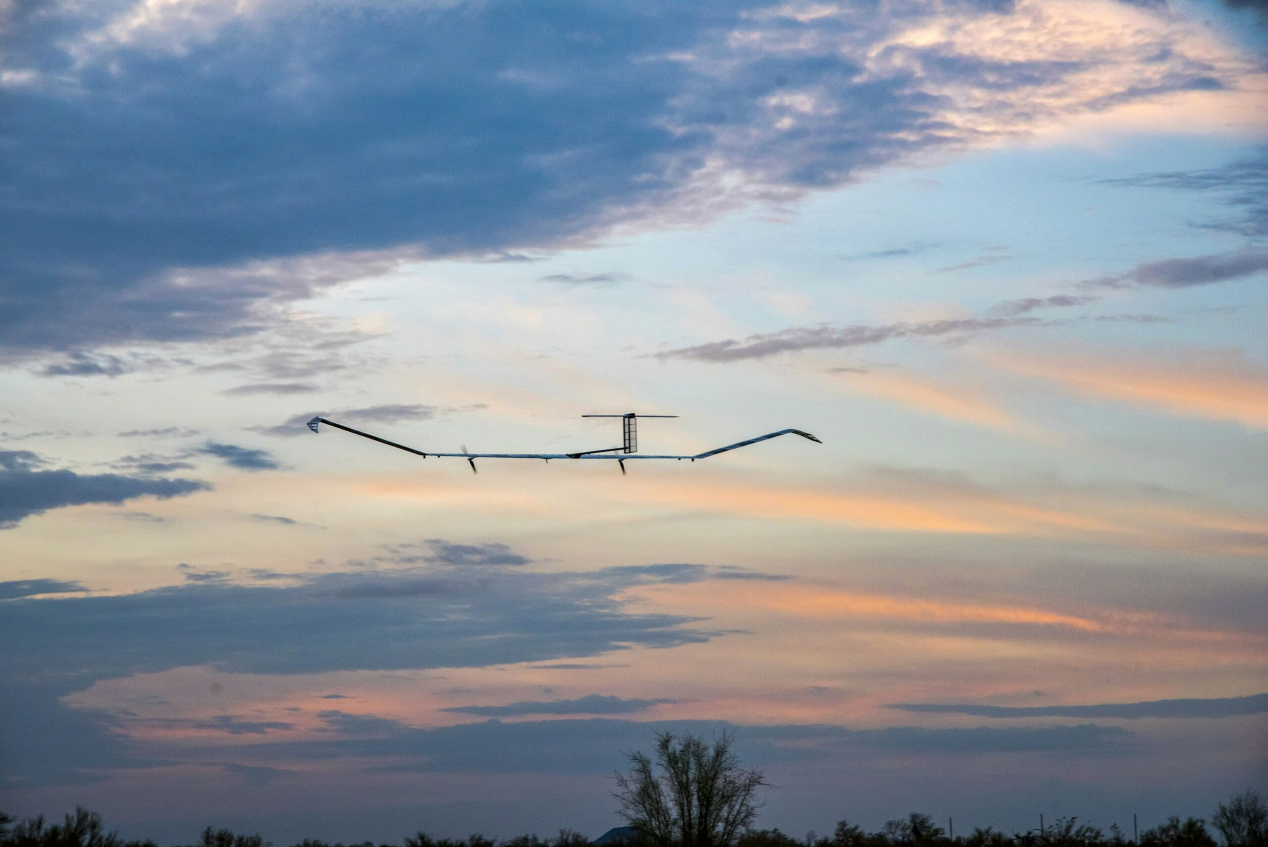 Airbus Zephyr Solar-Powered Drone