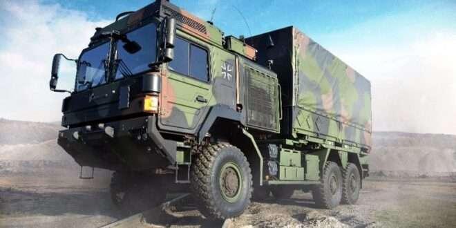Rheinmetall Bundeswehr truck