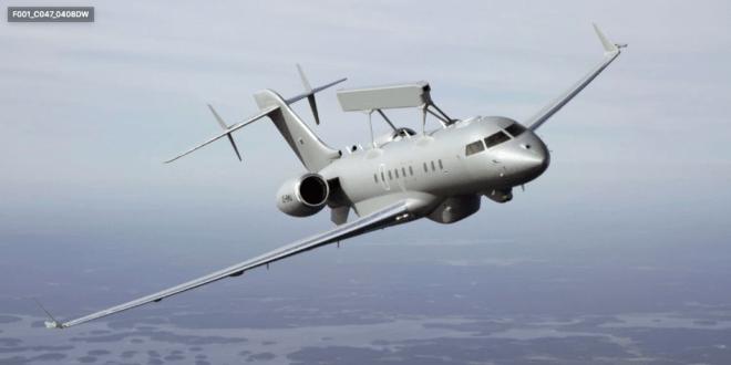 GlobalEye airborne surveillance systems