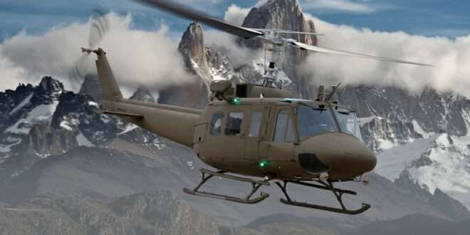 Bell delivers three Huey IIs to the Lebanese Air Force