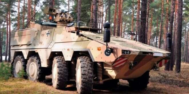 Boxer command vehicles