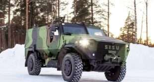 SISU GTP 4×4 off-road vehicles delivered to the Finnish Army