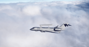 Saab Delivers Third GlobalEye