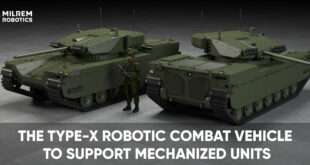 Milrem Robotics' Type-X Robotic Combat Vehicle