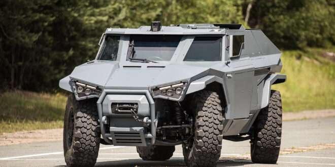 Arquus launches the Scarabee at IDEX 2021