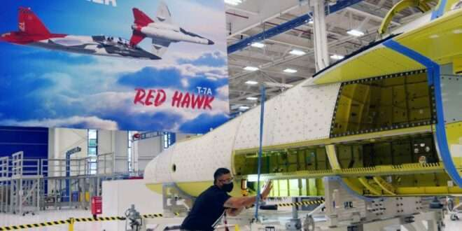 Boeing: First T-7A Red Hawk Joined in Record Time