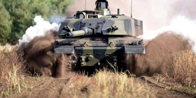 RBSL to build Next-Generation Challenger 3 Tanks in major boost for UK prosperity