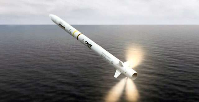 MBDA has been awarded a contract to equip the Brazilian Navy's new Tamandaré-class frigates with the Sea Ceptor air defence missile system