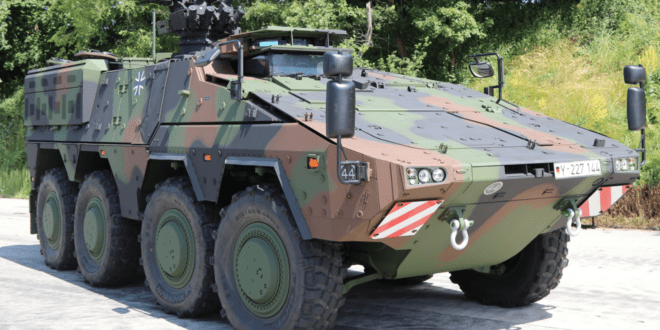 Delivery of the GTK Boxer vehicles ordered by the Bundeswehr now completed