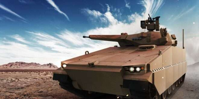 """""""Team Oshkosh-Hanwha"""" awarded contract to compete for US Army's OMFV vehicle concept design"""