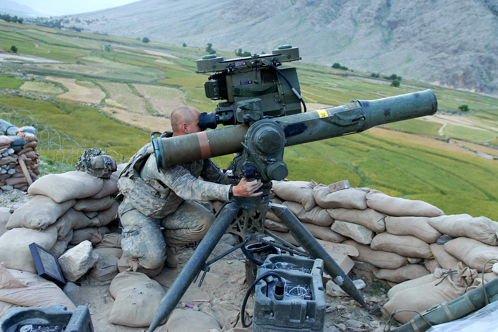 TOW Anti-Tank Missiles