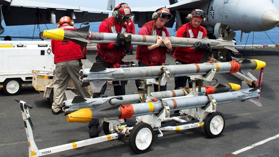 The U.S. Air Force and U.S. Navy are currently using the AIM-9X Block II (Picture source: U.S. Navy)