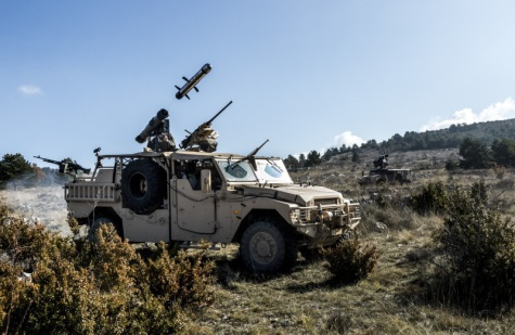 MMP firing operations on Sherpa and Sabre vehicule.