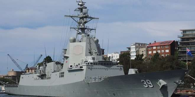 Royal Australian Navy HMAS Hobart Aegis Destroyer Completes Weapons Evaluations with U.S. Navy