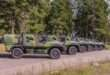 Oy Sisu Auto Ab delivered SISU GTP 4×4 off-road vehicles for Finnish Army