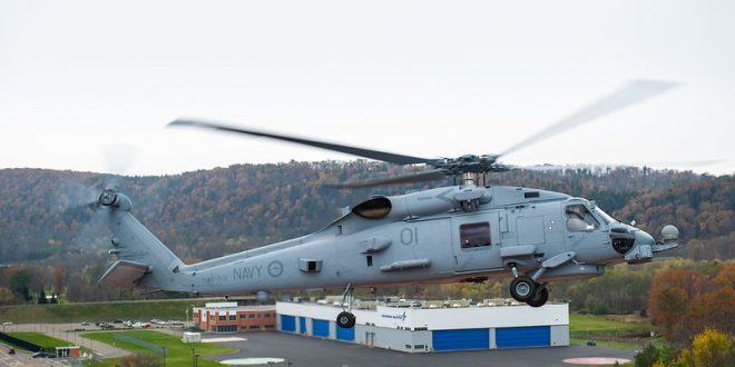 Australia – MH-60R Multi-Mission Helicopters and Related Defense Services